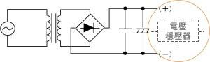 圖 12:採用開關方式的 DC/DC 轉換
