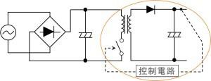 圖 13:採用開關方式的 DC/DC 轉換