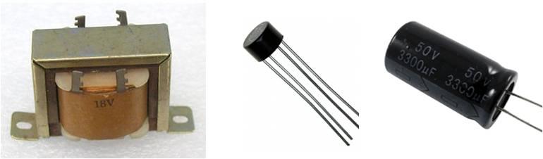 图4:变压器方式的AC/DC转换使用部件例